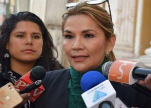 La opositora Áñez está dispuesta a asumir un Gobierno de 'transición' en Bolivia