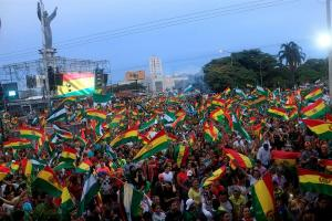 Gobierno de Ecuador llama a unir esfuerzos para restablecer la paz en Bolivia