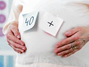 Un embarazo sano después de los 40 años