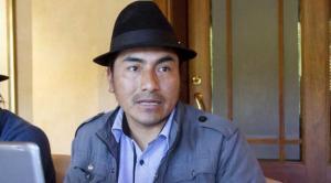 Iza le dice a Sonnenholzner que no esté ''lloriqueando'' si le aplican la justicia indígena