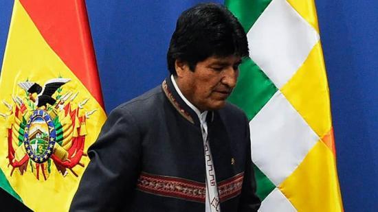 Evo Morales ingresa en el club de los presidentes con mandato incompleto