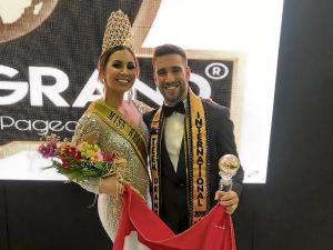 La manabita Sophia Bucheli destacó en el Miss Beauty Global 2019