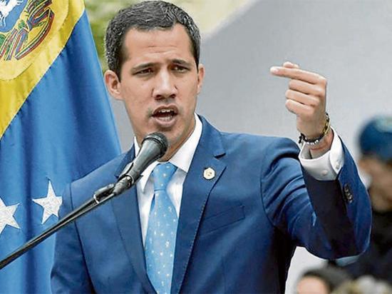 Guaidó pide seguir ejemplo de bolivia