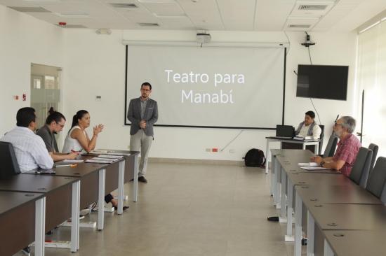 Presentan proyecto para recuperar espacios culturales en Manabí afectados por el terremoto