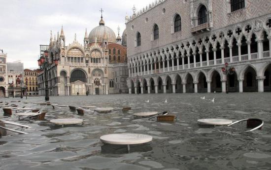 El Gobierno de Italia declarará el estado de emergencia en Venecia por las últimas inundaciones