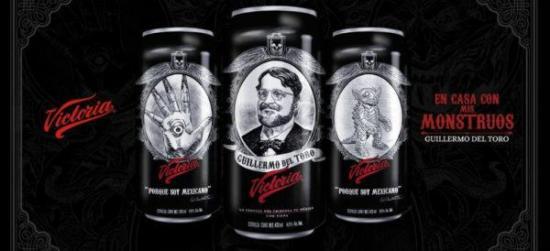 Guillermo del Toro acusa a cervecera Victoria de haber robado su imagen