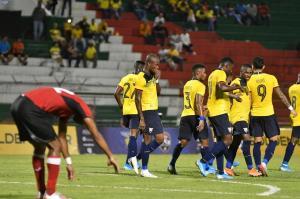 Noche de goles en el Reales Tamarindos: Ecuador vence 3-0 a Trinidad y Tobago