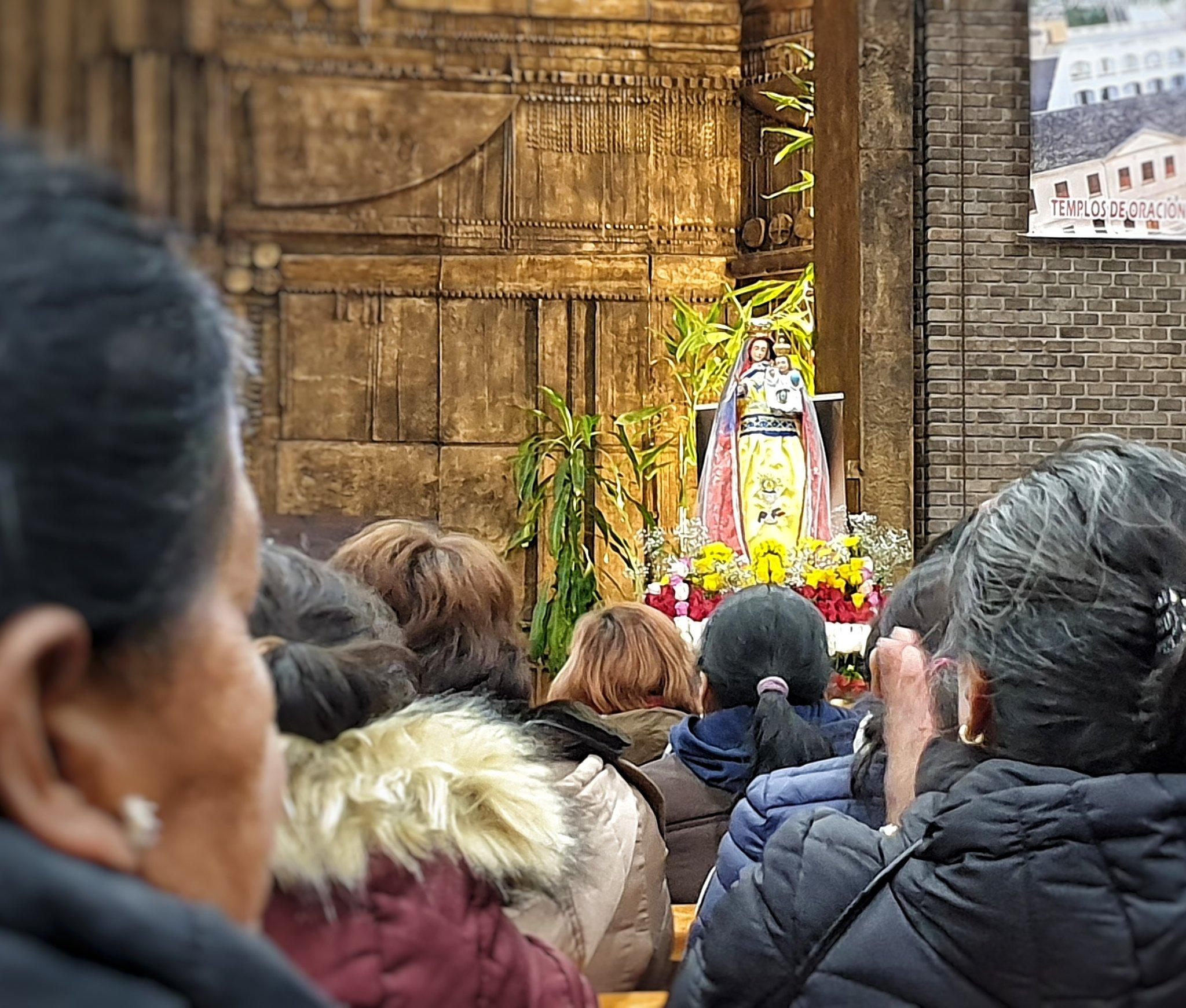Reducción considerable de peregrinos ecuatorianos a la Virgen del Quinche