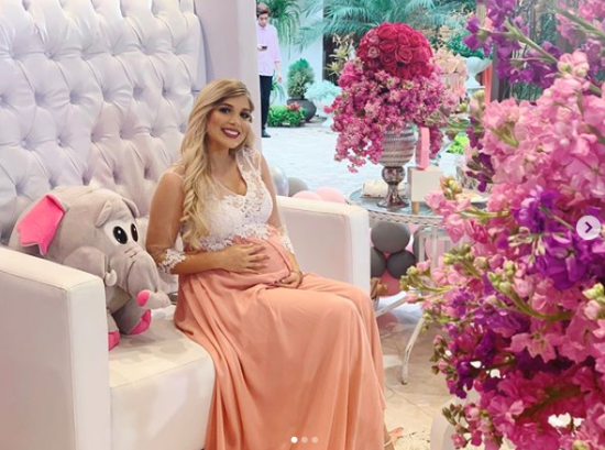 """María Fernanda Pérez: """"El papá de mi hija es joven y soltero"""""""