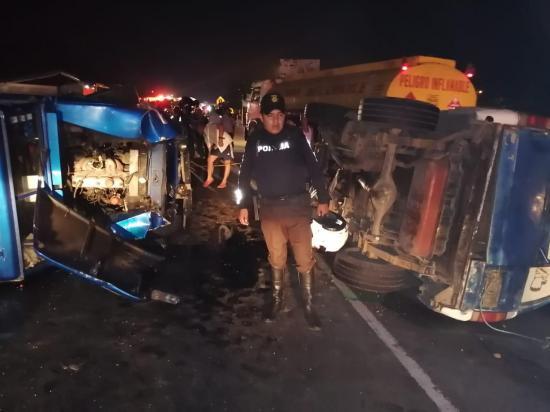 Accidente de tránsito deja tres muertos