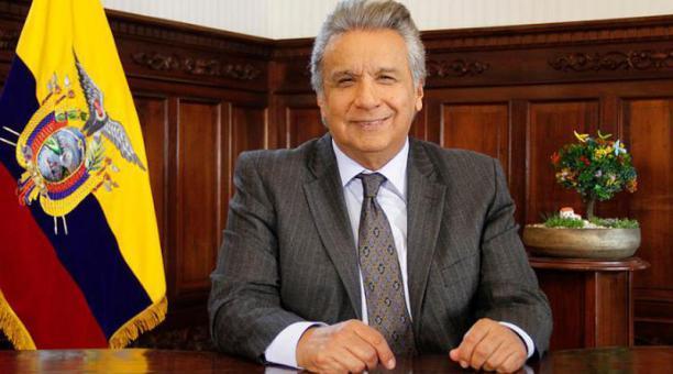 El presidente Lenín Moreno renuncia a su pensión como exvicepresidente de la República