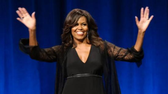 Michelle Obama es nomidada para los Grammy