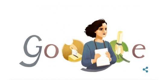 Google rinde homenaje a Matilde Hidalgo Navarro