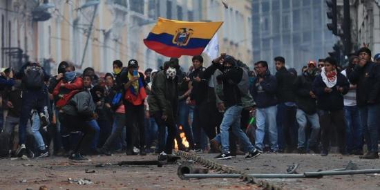 La Defensoría del Pueblo investigará denuncias en las protestas de Ecuador