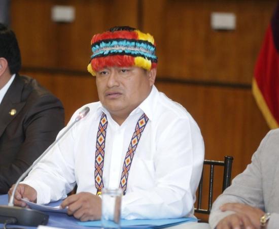El movimiento indígena Conaie respalda el paro nacional en Colombia