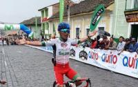 Cristian Tobar gana la quinta etapa de la Vuelta ciclística de Ecuador