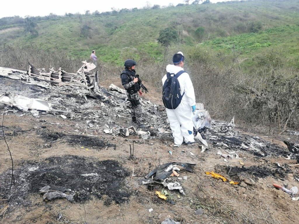 Cuerpos hallados en accidente de avioneta en Montecristi serían de mexicanos