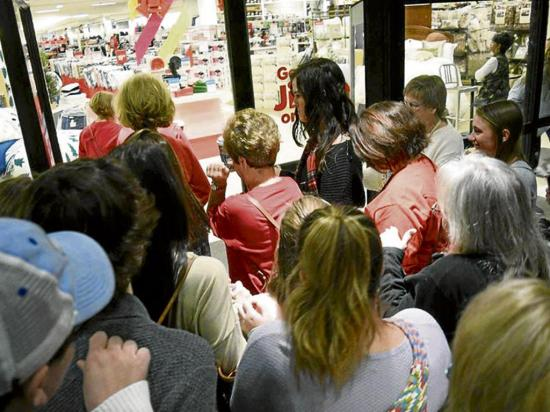 El black friday disminuye en las tiendas físicas
