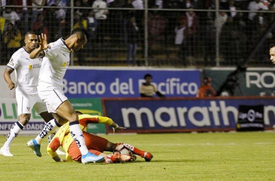 Aucas pierde 1-3 ante Liga de Quito