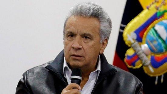 Lenín Moreno no se arrepiente de su respuesta a las protestas en Ecuador