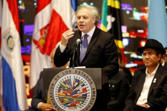 El Gobierno venezolano rechaza a la OEA como observador en elecciones de 2020