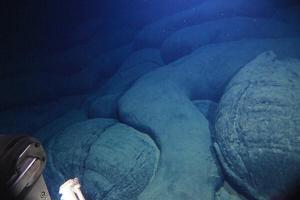Un joven volcán aparece en la profundidad de la Placa del Pacífico