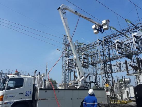 La madrugada del jueves, varios sectores de Portoviejo se quedarán sin luz