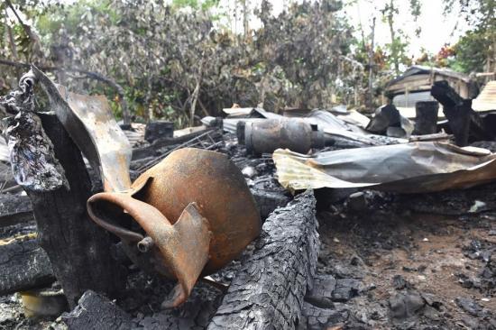 Hombre de 53 años murió en un incendio en Santo Domingo de los Tsáchilas