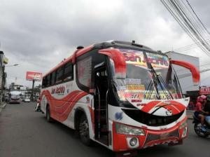 Bus de la cooperativa San Jacinto en Santo Domingo fue asaltado
