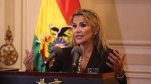 Áñez no será candidata a presidenta, según el Gobierno interino de Bolivia