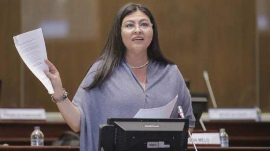 Fiscalía General del Estado descarta acusar a exlegisladora Sofía Espín