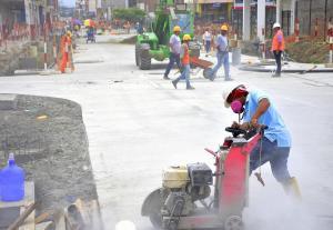 PORTOVIEJO: Apertura de la calle Pedro Gual sigue en espera