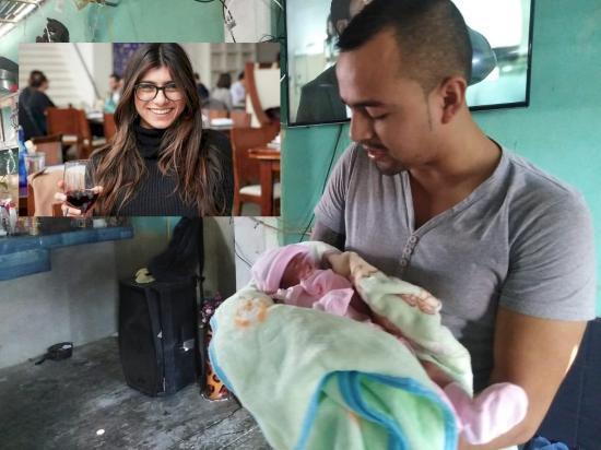 Manta: Padres le ponen a su hija Mía Khalifa