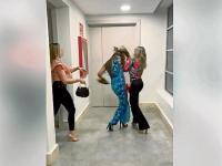 Vídeo de agresión a exreina de Manta se viraliza en redes sociales