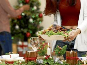 tenga una cena  navideña saludable
