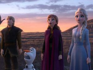''Frozen II'' lidera por tercera semana seguida la taquilla de Estados Unidos