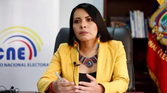 El CAL admite tramitar juicio político contra Diana Atamaint presidenta del CNE