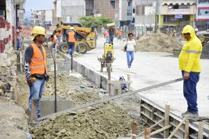 PORTOVIEJO: Abren un tramo de la calle Pedro Gual