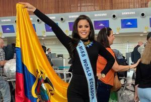 A pocos días de que Ecuador brille en el Miss World