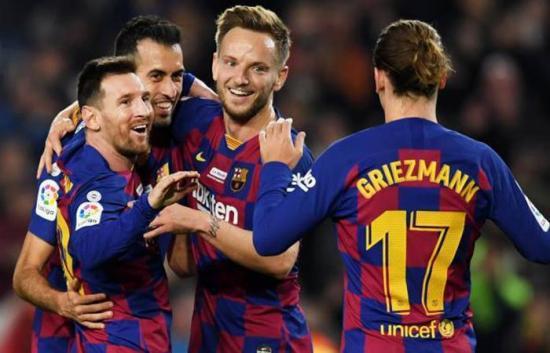 El Barcelona de España es el club más mencionado en Twitter este año