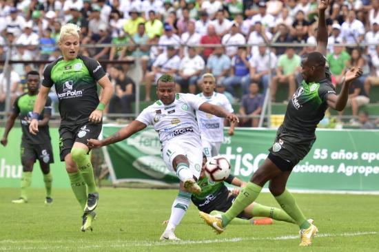 Liga de Portoviejo cae 2-1 ante Orense en la final de ida de la Serie B