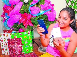 Sin celulares en Navidad