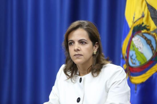 Archivado el juicio político contra ministra de Gobierno María Paula Romo
