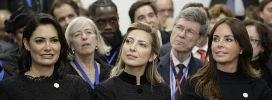El papa preside un acto en Roma con cinco primeras damas de Latinoamérica