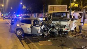 Policía muere tras cuatro días de sufrir accidente de tránsito