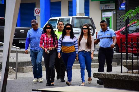 Cajeras son sentenciadas a 9 años de prisión por robo a Banco Pichincha en Manta