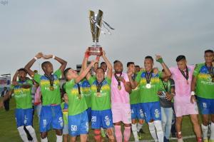 Orense celebra su primer campeonato de la Serie B