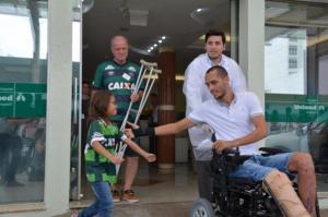 Hélio Zampier Neto, sobreviviente del accidente aéreo del Chapecoense, anuncia su retirada