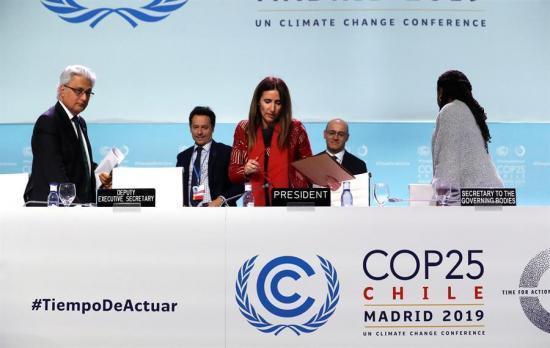 Concluye en Madrid la cumbre del clima más larga de la historia