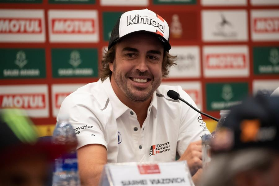 El primer Dakar en Arabia arranca con la expectación centrada en Fernando Alonso